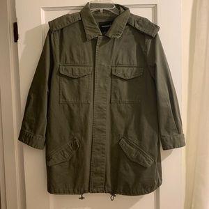 WHO WHAT WHERE - cargo jacket- NWOT size Large